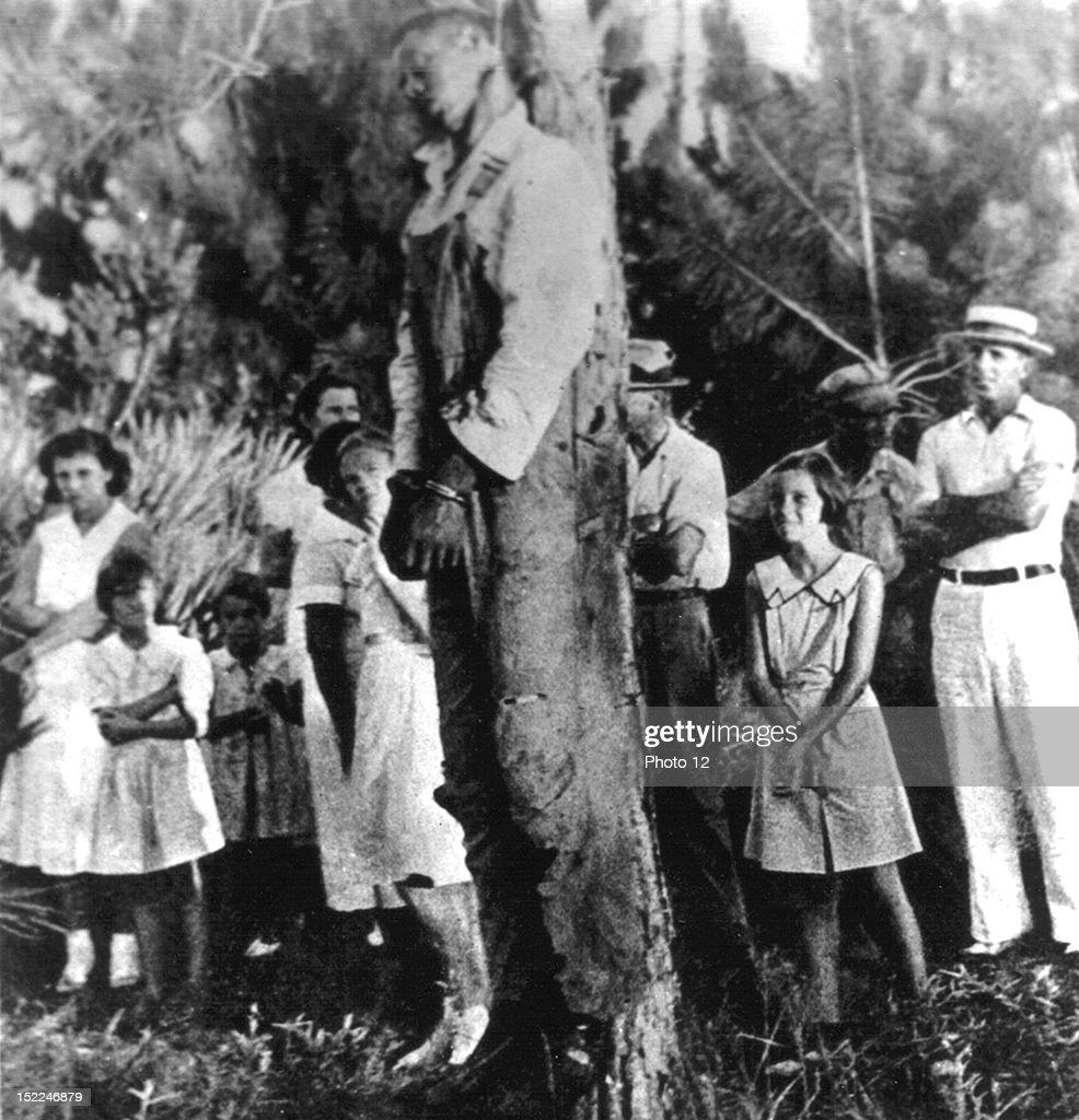 Lynching of Rubin Stacy in Fort Lauderdale, Florida, July 19, 1935, United States, New York, Schomburg Center. : News Photo