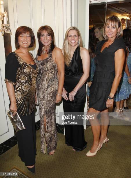 Lynda Bellingham Jane McDonald Jackie Brambles and Carol McGiffin attends the TV Quick and TV Choice Awards at the Dorchester Hotel on September 03...