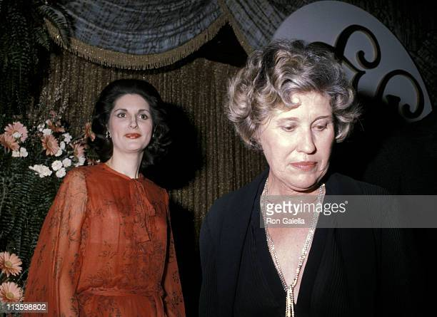 Lynda Bird Johnson and Erma Bombeck during 1979 Ladies Home Journal Women of The Year Award at Ladies Home Journal Building in New York City, New...