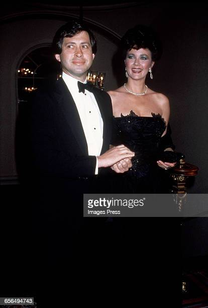 Lynda Carter and husband Robert A Altman circa 1985 in New York City