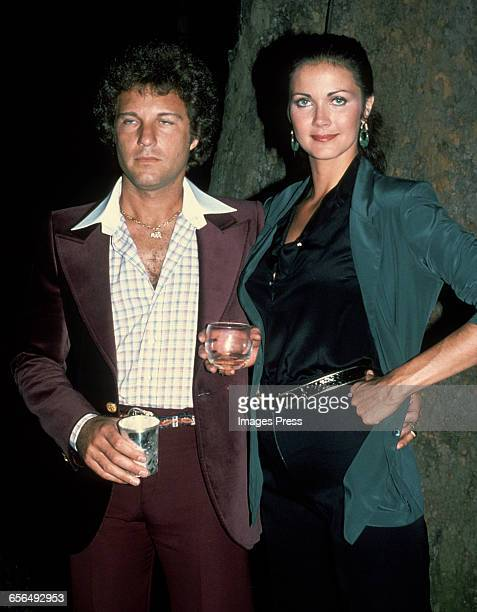 Lynda Carter and husband Ron Samuels circa 1979 in New York City