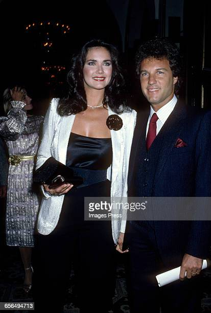 Lynda Carter and husband Ron Samuels circa 1981 in New York City