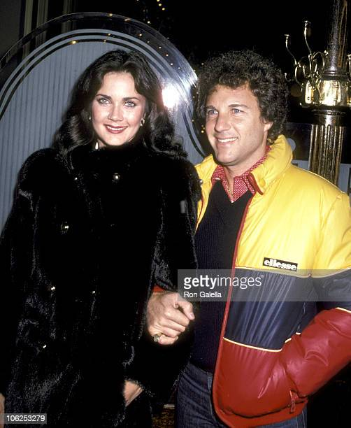 Lynda Carter and Ron Samuels during Lynda Carter and Ron Samuels Sighting at Joanna Restaurant December 17 1980 at Joanna Restaurant in New York City...