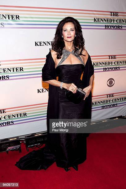 Lynda Carter arrives to the 32nd Kennedy Center Honors at Kennedy Center Hall of States on December 6 2009 in Washington DC