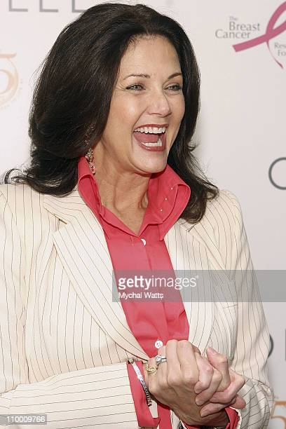 Lynda Carter at the Carolee 35th Anniversary Celebration September 19 2007 at Le Cirque in New York City
