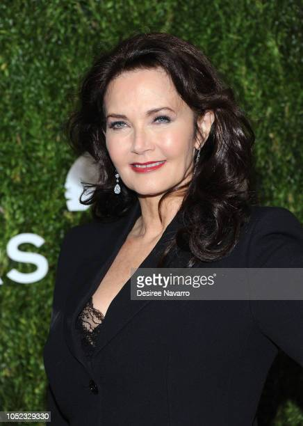 Lynda Carter attends God's Love We Deliver 12th Annual Golden Heart Awards at Spring Studios on October 16 2018 in New York City