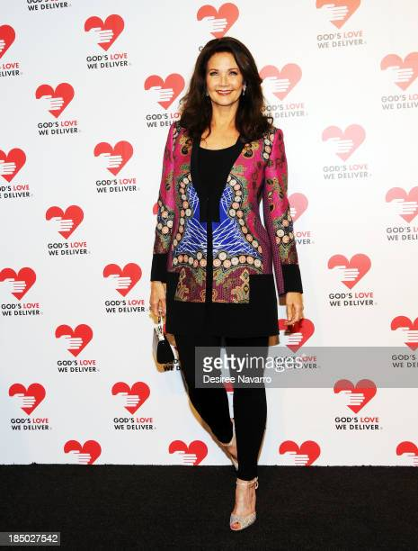 Lynda Carter attends the 2013 God's Love We Deliver 2013 Golden Heart Awards Celebration at Spring Studios on October 16, 2013 in New York City.