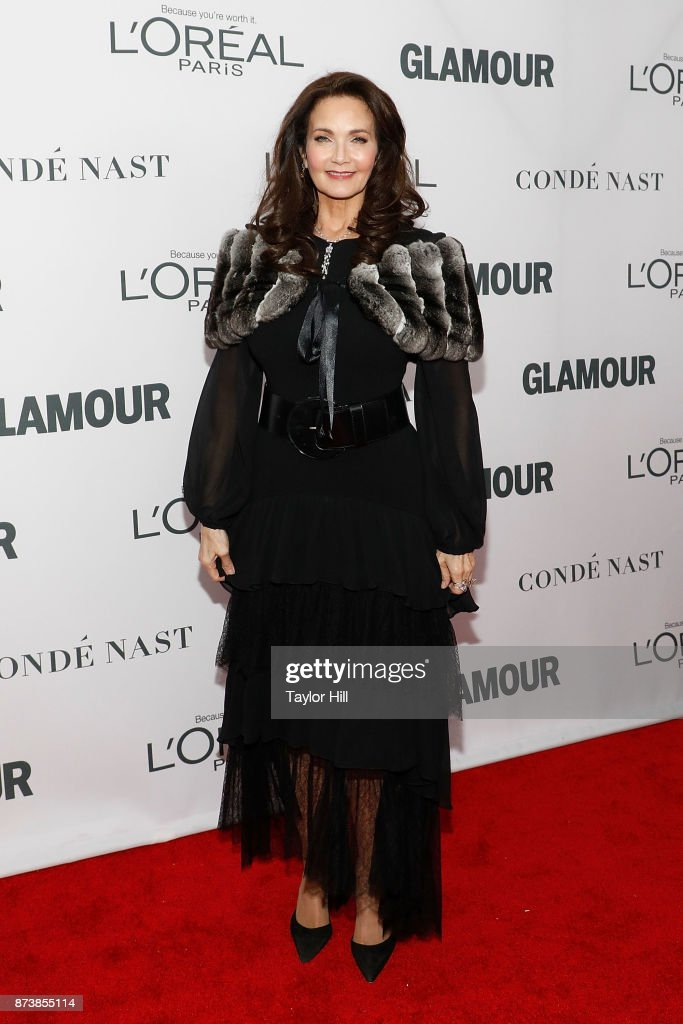 Lynda Carter attends the 2017 Glamour Women Of The Year Awards at Kings Theatre on November 13, 2017 in New York City.