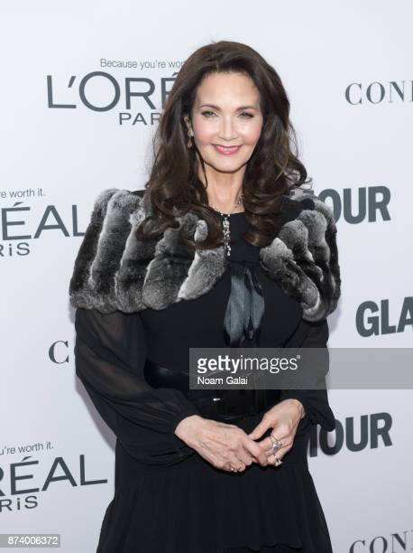 Lynda Carter attends the 2017 Glamour Women of The Year Awards at Kings Theatre on November 13 2017 in New York City