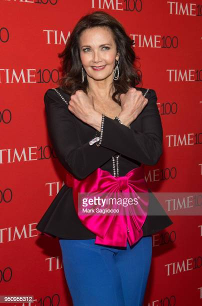 Lynda Carter attends the 2018 Time 100 Gala at Frederick P Rose Hall Jazz at Lincoln Center on April 24 2018 in New York City