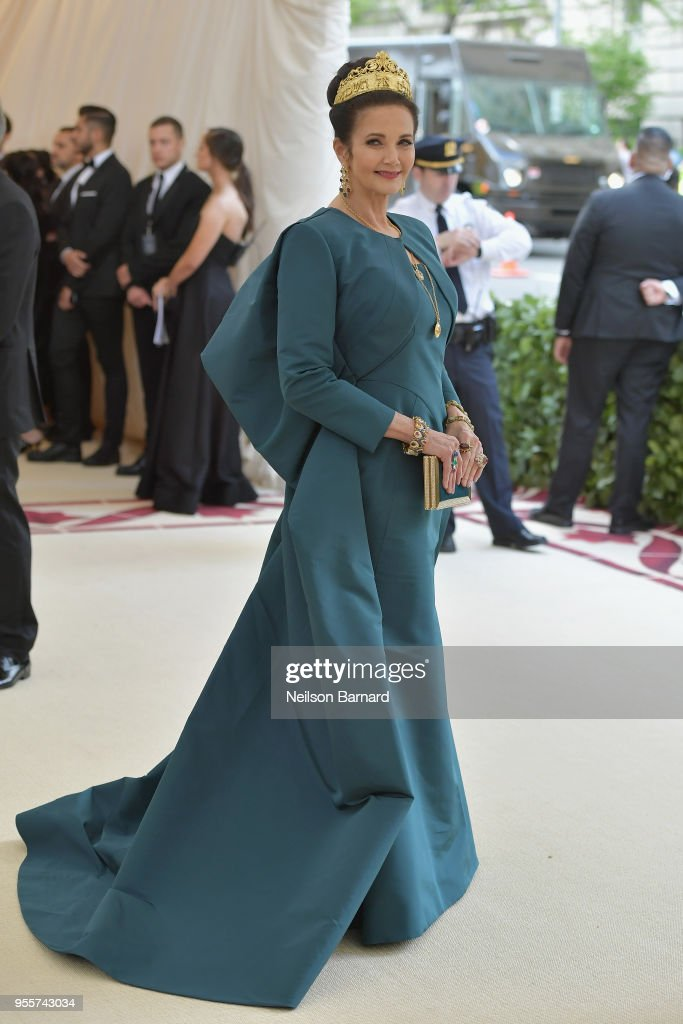 Lynda Carter attends the Heavenly Bodies: Fashion & The Catholic Imagination Costume Institute Gala at The Metropolitan Museum of Art on May 7, 2018 in New York City.