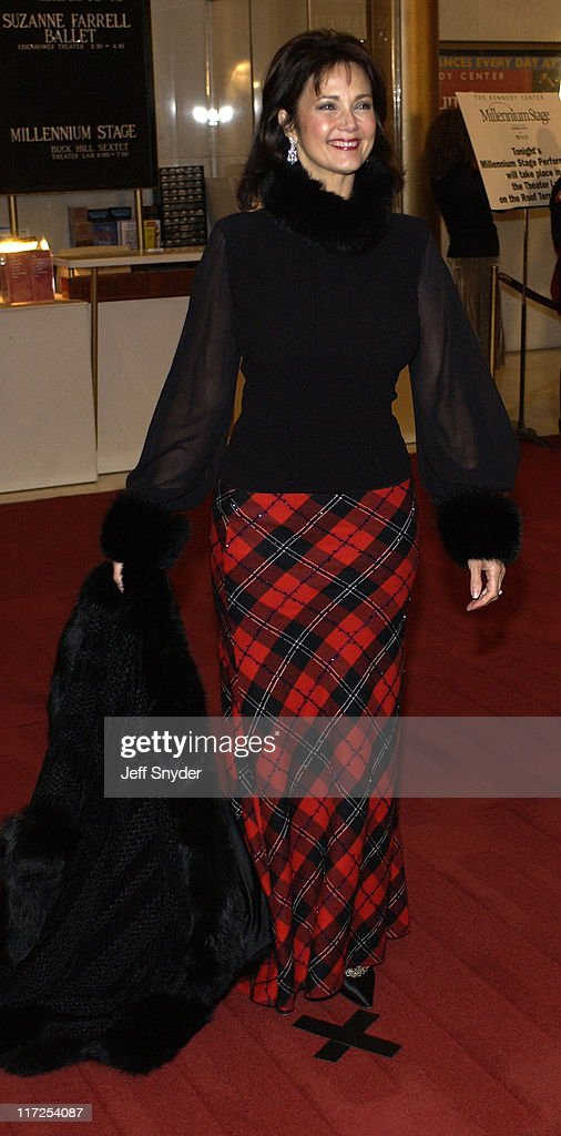 Lynda Carter during 26th Annual Kennedy Center Honors at John F Kennedy Center for the Performing Arts in Washington, DC, United States.