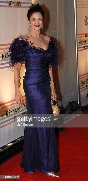 Lynda Carter during 29th Annual Kennedy Center Honors at John F Kennedy Center for the Performing Arts in Washington DC United States