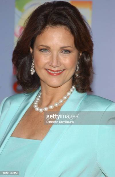 Lynda Carter during CBS at 75 at Hammerstein Ballroom in New York City New York United States