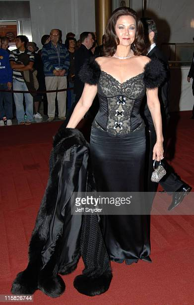 Lynda Carter during The 28th Annual Kennedy Center Honors Arrivals at The Kennedy Center for the Perfoming Arts in Washington DC United States