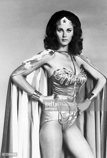 Lynda Carter stars as Wonder Woman Diana Prince in The New adventures of Wonder Woman onehour actionadventure series to be broadcast Fridays on the...
