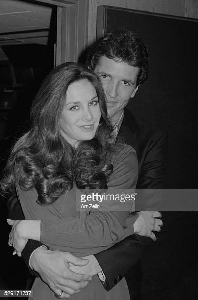 Lynda Carter with her husband Ron Samuels circa 1970 New York