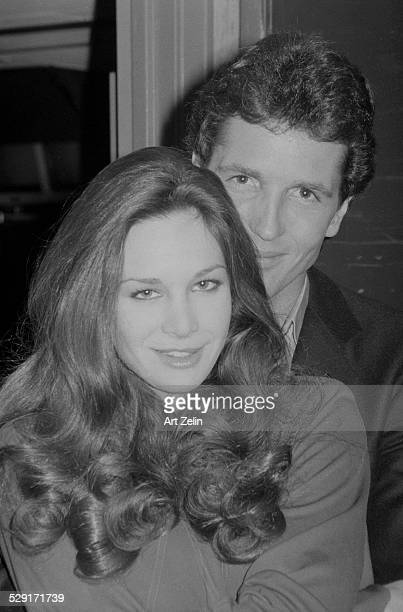 Lynda Carter with her husband Ron Samuels circa 1970 New York