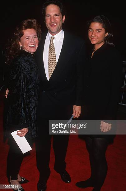 Lynda Guber Peter Guber and Elizabeth Guber during Mary Shelly's Frankenstein Los Angeles Premiere at Cineplex Odeon Theatre in Century City...