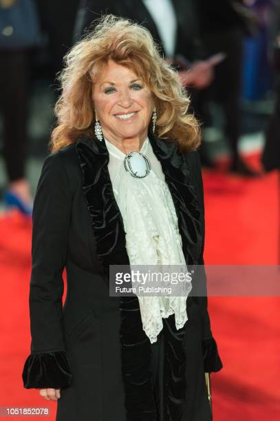 Lynda La Plante attends the European film premiere of 'Widows' at Cineworld Leicester Square during the 62nd BFI London Film Festival Opening Night...