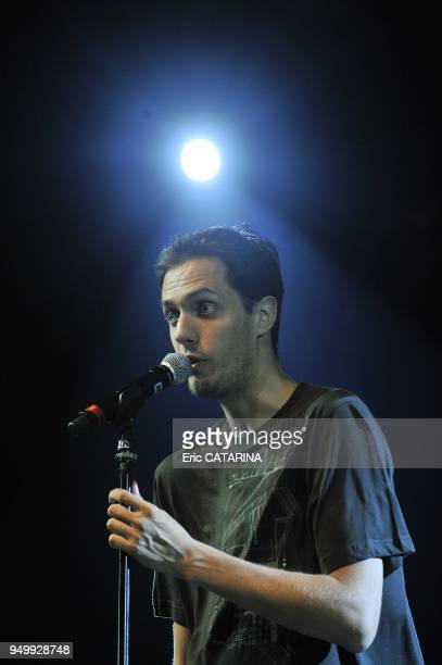 Lynda LemayCharles Aznavour Sanseverino Agnes Bihl Dominique Fillon Buika and Grand Corps Malade performing live for a tribute to Charles Trenet and...