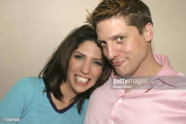 Lynda Lopez and Christopher Sieber from Spamalot