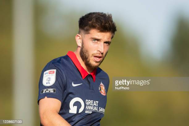 Lynden Gooch of Sunderland during the Sky Bet League 1 match between Oxford United and Sunderland at the Kassam Stadium, Oxford, England, on...