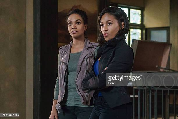 Lyndie Greenwood and Nicole Beharie in the 'The Sister Mills' episode of SLEEPY HOLLOW airing Thursday Oct 22 on FOX