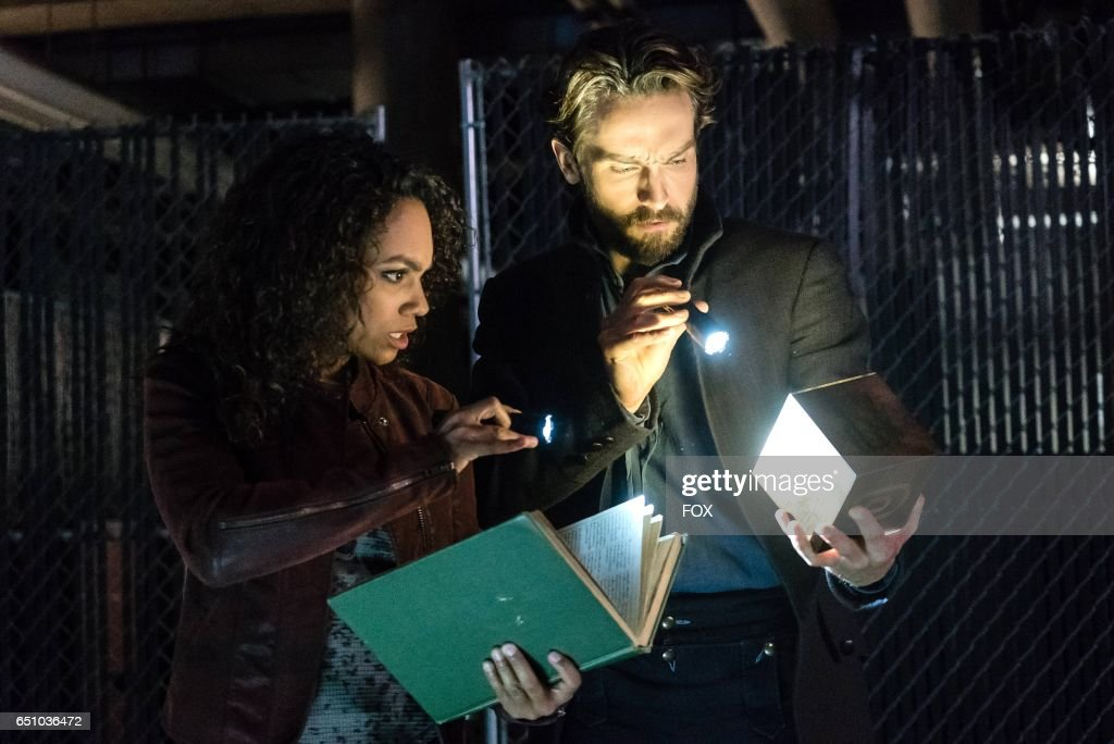 Lyndie Greenwood and Tom Mison in the Insatiable episode of SLEEPY HOLLOW airing Friday, March 10 (9:00-10:00 PM ET/PT) on FOX.