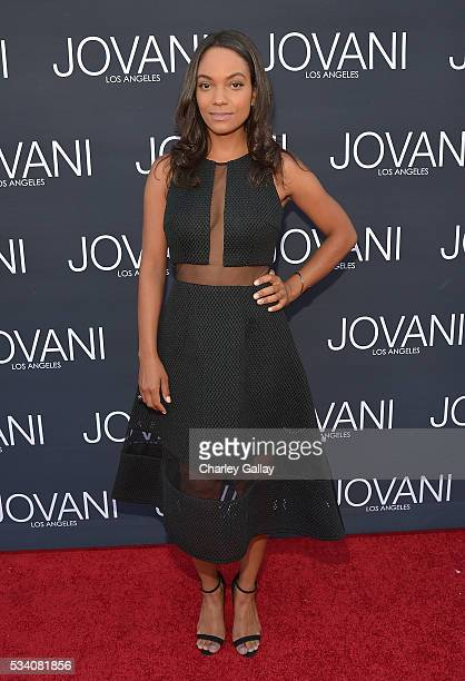 Lyndie Greenwood attends the Jovani LA Flagship Opening on May 24 2016 in Beverly Hills California