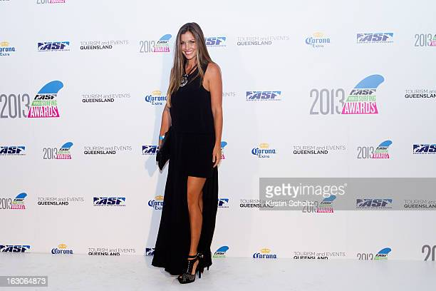 Lyndie Irons of the United States of America at the 2013 ASP World Surfing Awards on February 28 2013 in Surfers Paradise Australia