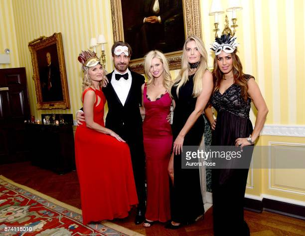 Lyndsay Hubbard Pete Goodwin Sarah Merrill Lauren Wirkus and Guest attend Search and Care's Annual Yorkville Ball at Private Club on November 10 2017...