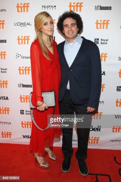 Lyndsay Leonard and Terry Leonard attend the Professor Marston The Wonder Women premiere during the 2017 Toronto International Film Festival at...