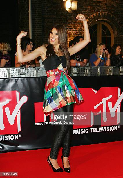 Lyndsey Rodrigues arrives at the MTV Australia Awards 2008 at the Australian Technology Park, Redfern on April 26, 2008 in Sydney, Australia. This...