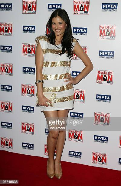 Lyndsey Rodrigues attends The 2010 Men's Health Man at the ECQ Bar on March 16 2010 in Sydney Australia The awards intend to unveil all round good...