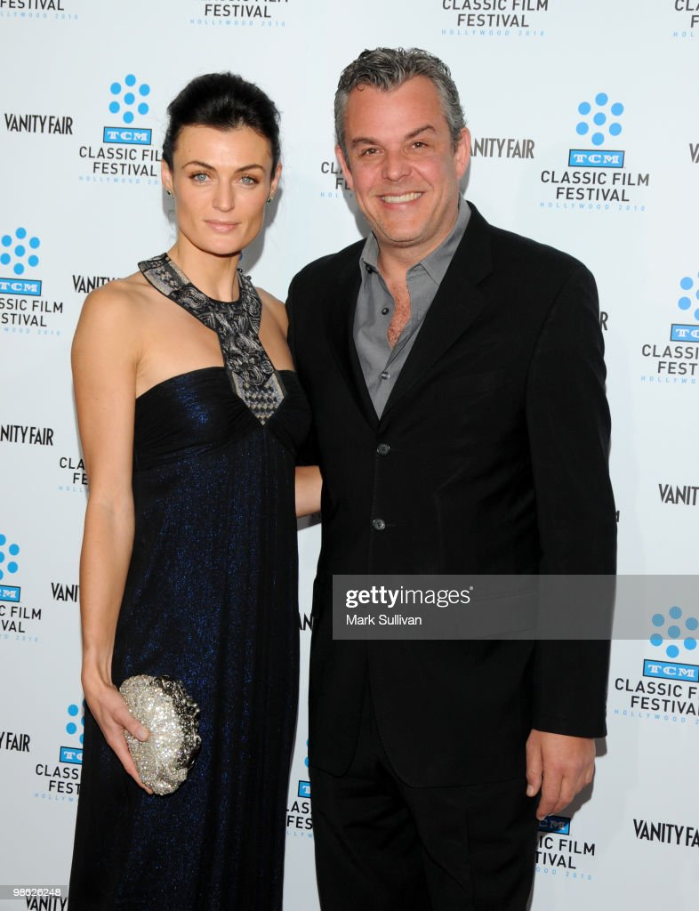 Lyne Renee and Danny Huston arrive at the opening night gala and premiere of the newly restored 'A Star Is Born' at Grauman's Chinese Theatre on April 22, 2010 in Hollywood, California.