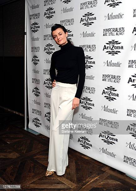 """Lyne Renee attends The Atlantic Magazine And AriZona Beverages Los Angeles Premiere Of """"The Imperialists Are Still Alive!"""" at Soho House on April 19,..."""