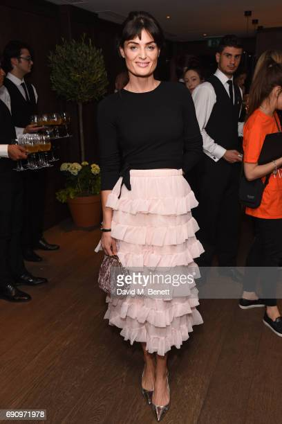 Lyne Renee attends the Charity Gala screening of The Hippopotamus in support of Blue Marine Foundation and Maggie's at The May Fair Hotel on May 31...