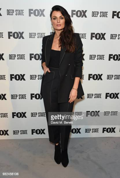 Lyne Renee attends the Global Premiere of Deep State the new espionage thriller from FOX at the Curzon Soho on March 14 2018 in London England