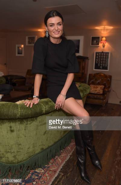 Lyne Renee attends 'The Laundromat' screening hosted by NETFLIX on September 26, 2019 in London, England.