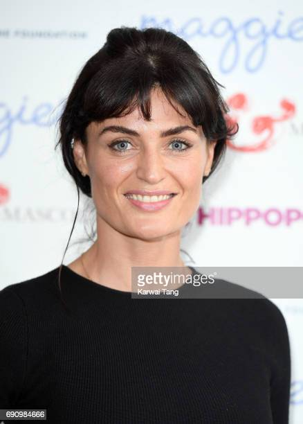 Lyne Renee attends the UK gala screening of The Hippopotamus at The Mayfair Hotel on May 31, 2017 in London, England.