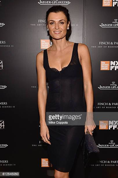 Lyne Renee from the PBS series Mercy Street attends the JLC Hauser Cocktails event during the 54th New York Film Festival at Hauser Patron Salon at...