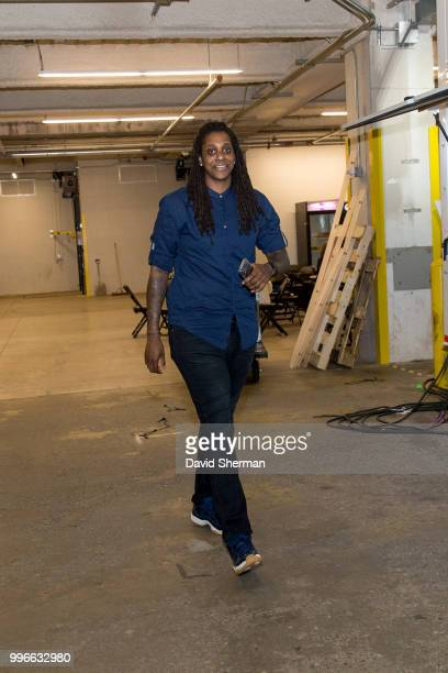 Lynetta Kizer of the Minnesota Lynx before the game against the Los Angeles Sparks on July 5 2018 at Target Center in Minneapolis Minnesota NOTE TO...