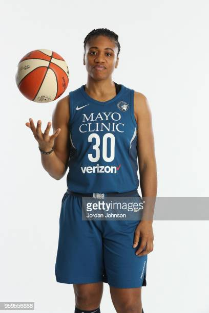 Lynetta Kizer of the Minnesota Lynx poses for a portrait during 2018 Media Day on May 16 2017 at Target Center in Minneapolis Minnesota NOTE TO USER...
