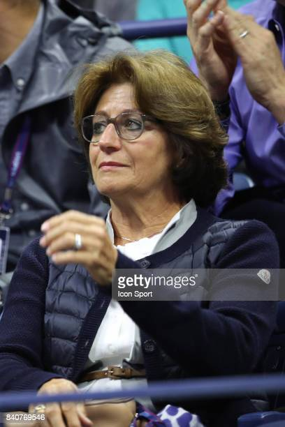 Lynette Federer on Day Two of the Us Open 2017 at USTA Billie Jean King National Tennis Center on August 29 2017 in New York City