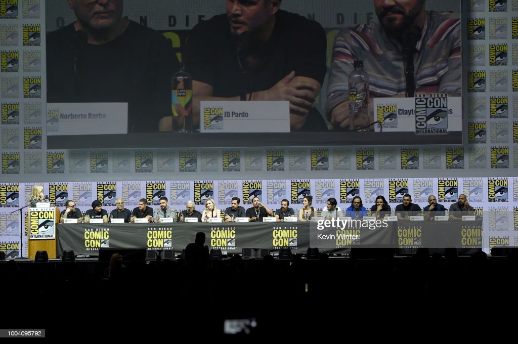 "Comic-Con International 2018 - ""Mayans M.C."" Discussion And Q&A : News Photo"