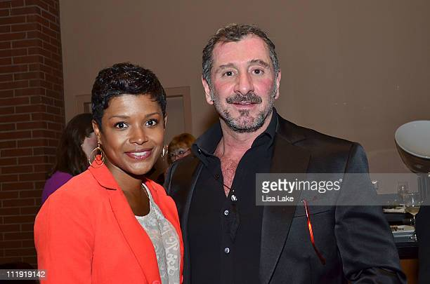 Lynette Townes and Ralph Rucci at the PIFA runway show honoring Philadelphia native and designer Ralph Rucci presented by Philadelphia Style at...