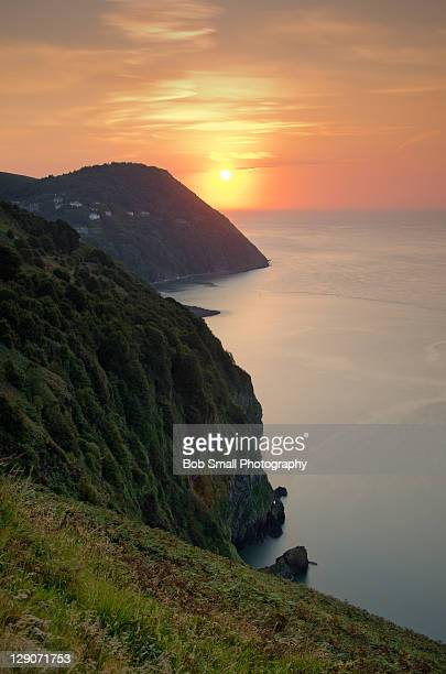 Lynmouth sunset