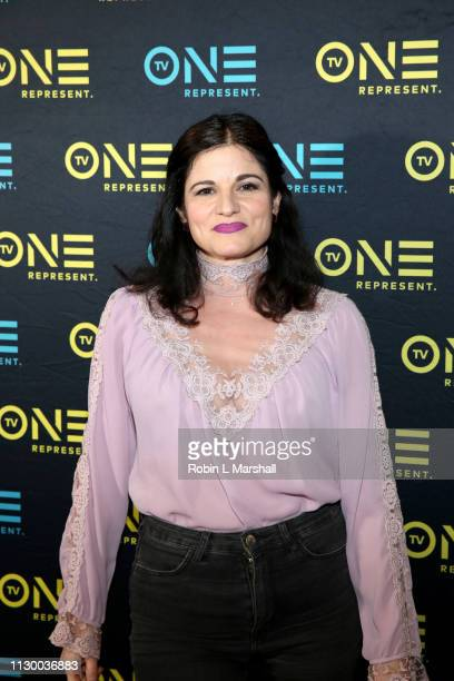 Lynn Adrianna attends the TV One Premiere Screening of 'Loved To Death' during the Pan African Film Festival at Baldwin Hills Crenshaw Plaza on...
