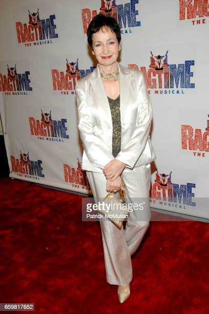 Lynn Ahrens attends Opening Night of RAGTIME The Musical at Neil Simon Theatre on November 15 2009 in New York City